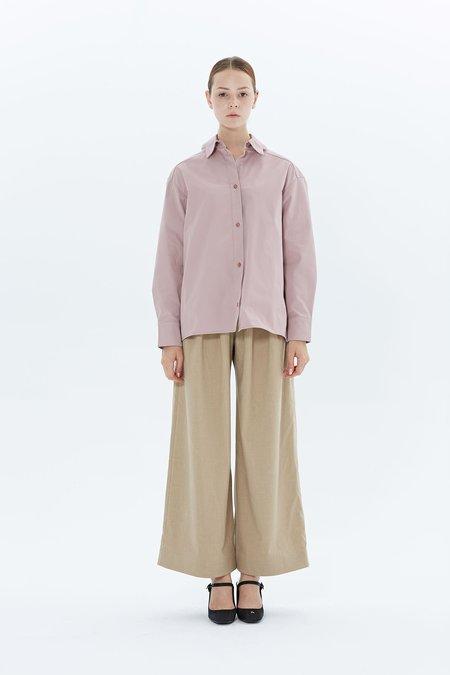 Steven Tai Glitch Shirt - Dusty Pink