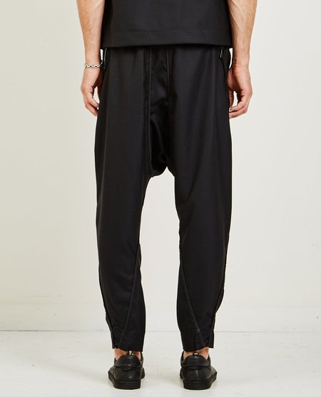 Abasi Rosborough ANKARA PANT - BLACK WOOL