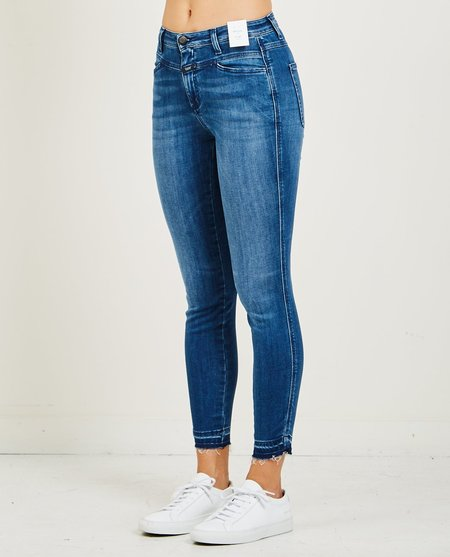 Closed SKINNY PUSHER JEANS - STRONG BLUE