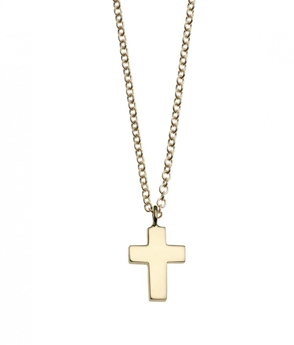 Minor Obsessions Cross Necklace