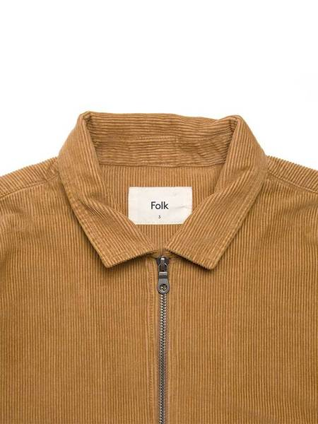 Folk Signal Jacket - Camel