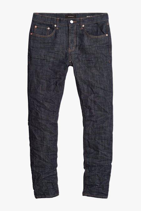 Purple P001 Slim Jean - RAW INDIGO
