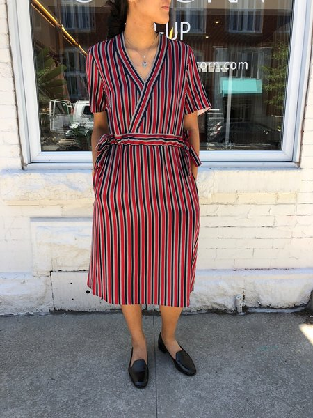 Just Female Dress Fanny - Red Striped