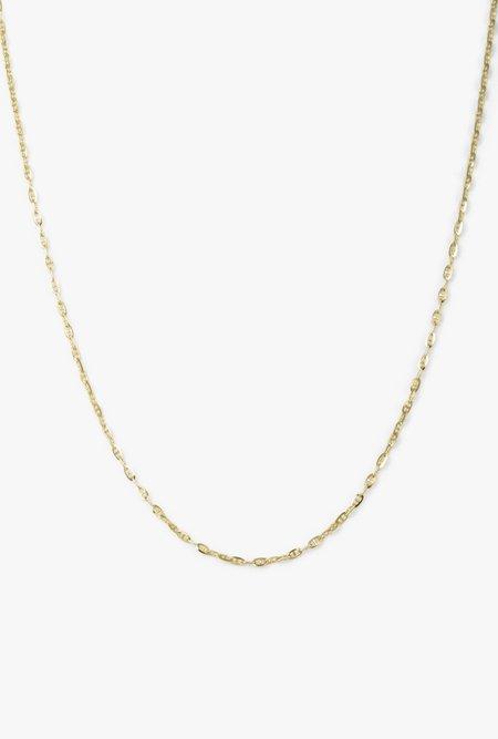 """Loren Stewart 16"""" Baby Gucci Chain Necklace - 14k Yellow Gold"""