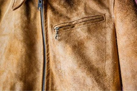 Schott Duke Unlined Rough Out Suede Jacket