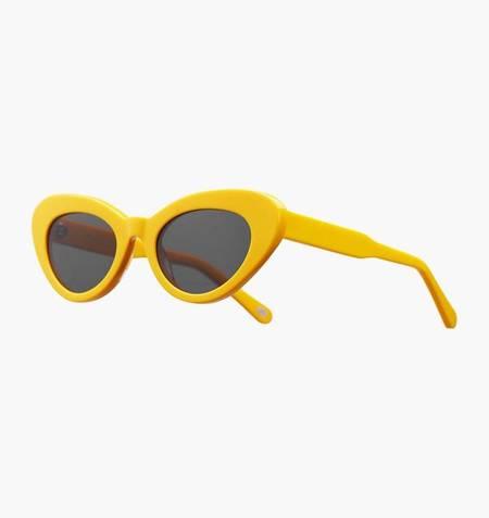 Chimi x Sundae School Round Sunglasses - Yellow