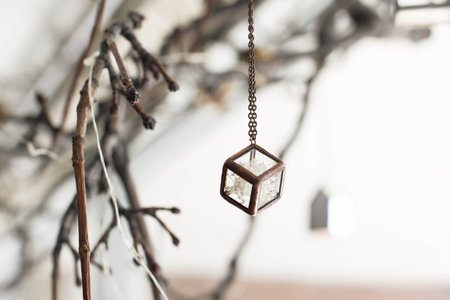 Here and Now Terrarium Necklace