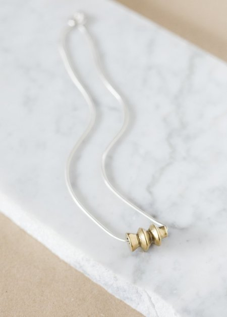 Seaworthy Nayyirah Necklace - Brass