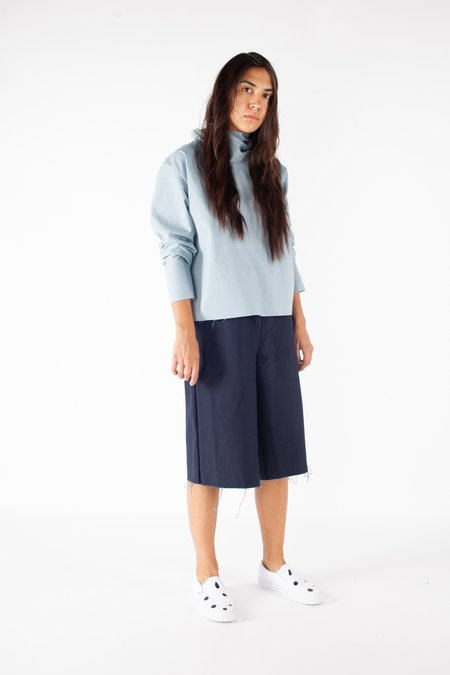 Ashley Rowe Turtleneck - Light Blue