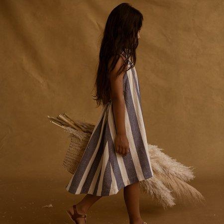 Kids Feather Drum Elena Sack Dress