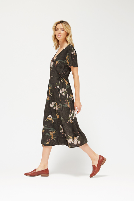 Lacausa Tallulah Dress in Celeste Floral