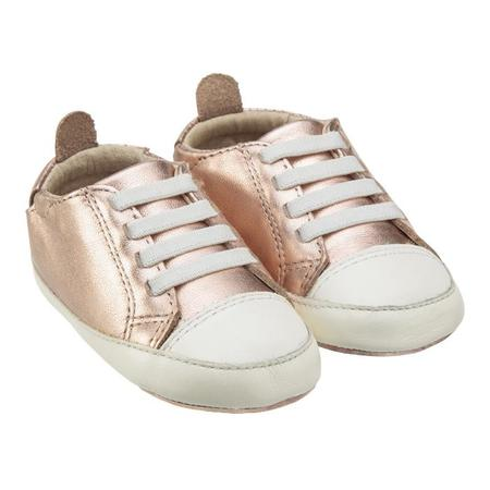 KIDS Old Soles Baby Eazy Tread Shoes - Copper/White