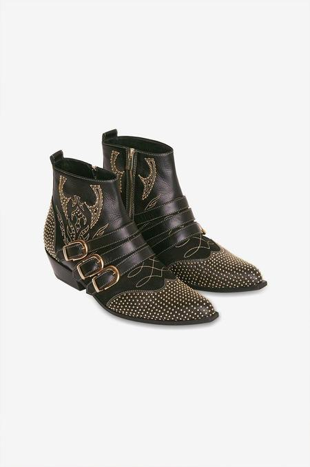Anine Bing Penny Boot - Black