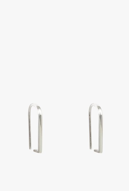 Honey & Bloom Line Hook Threader Earrings