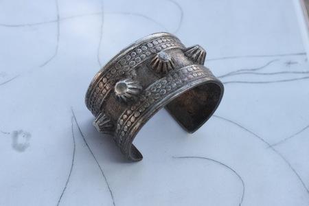 Vintage Alchemy Works Israeli Bracelets - Pure Silver