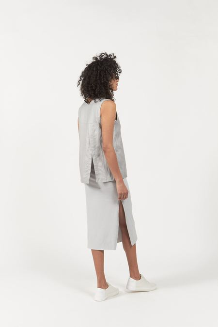 Hemsmith ZAN TANK - LIGHT GREY