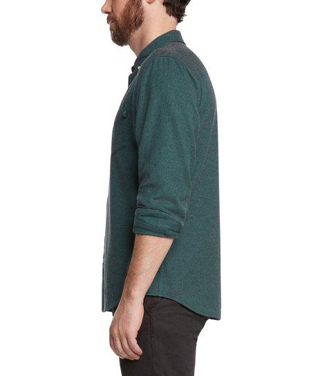 life/after/denim Greenpoint Shirt - GREEN