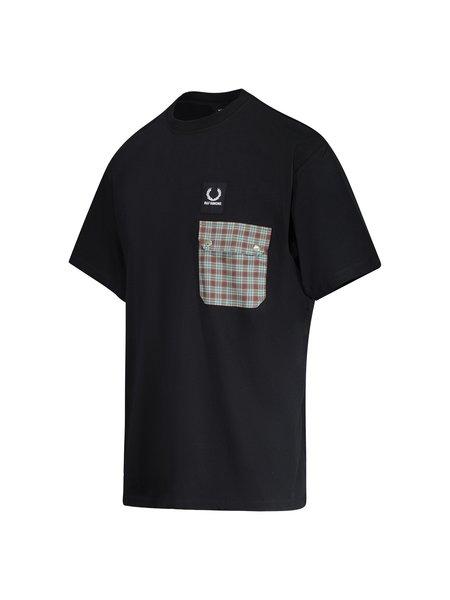Raf Simons X Fred Perry Pocket Detail T-Shirt