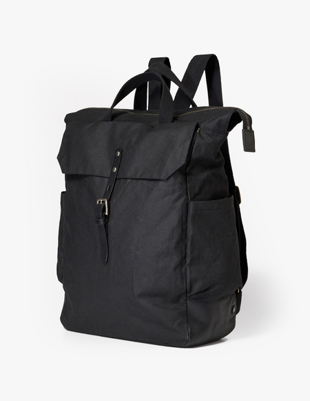 Ally Capellino Fin Waxy BACKPACK - Black