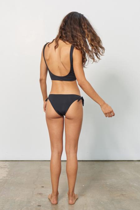 Mara Hoffman Lira Bikini Top - Black