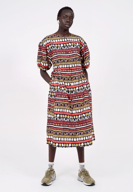 LF Markey Oliver Dress - Earth Print
