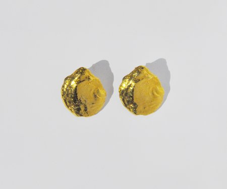 Brigitta Luna Earrings - Gold