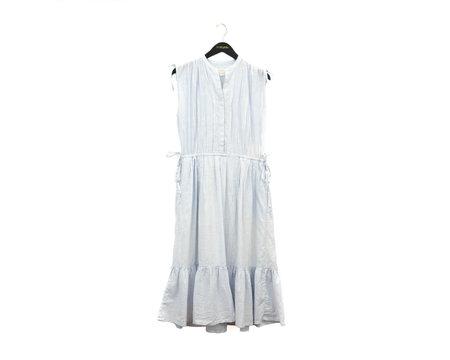 Trovata Riley Dress - LIGHT BLUE/WHITE