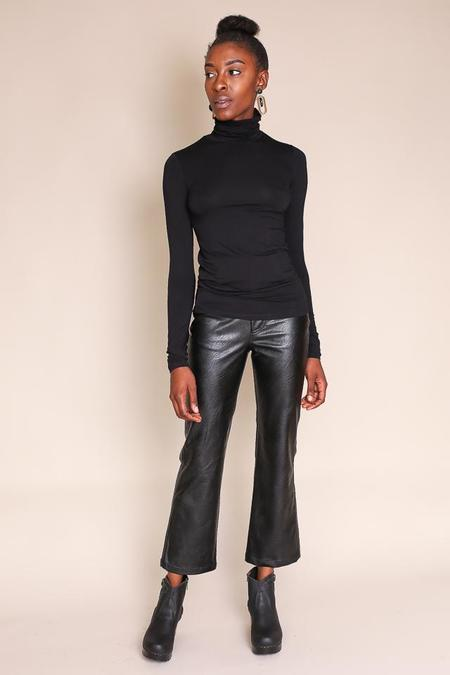Majestic Amy Turtleneck - Noir