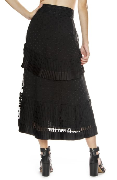 Zimmermann Pleated Tier Skirt