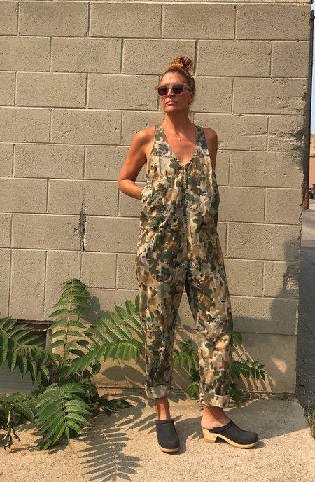 Rachel Comey Buxton Jumpsuit - Multi Camo Ripstop