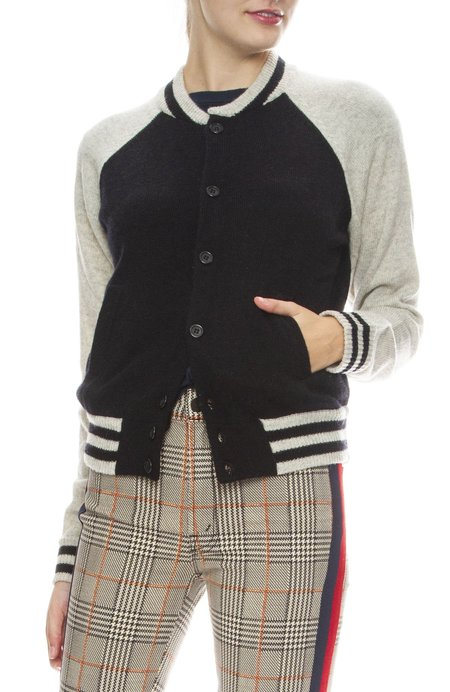 Mother Spoon Full of Sugar Letterman Sweater