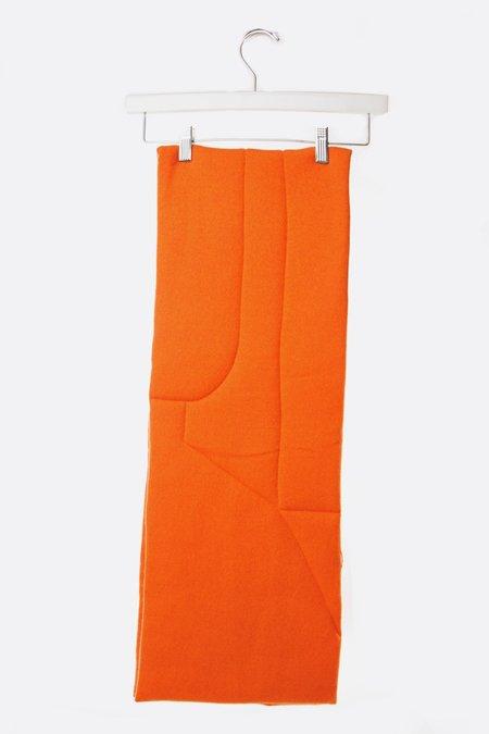 Oyuna Antu Cashmere Puff Shawl - Orange