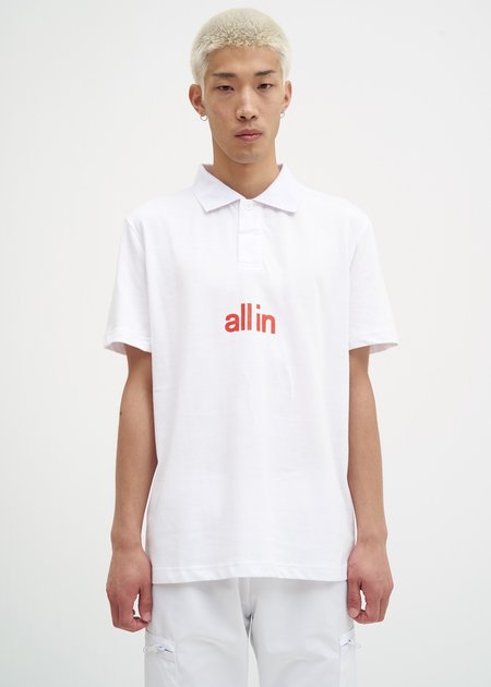 all in Tennis Polo - White