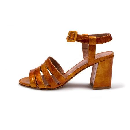 Maryam Nassir Zadeh Palma High Sandal - Flame Glitter