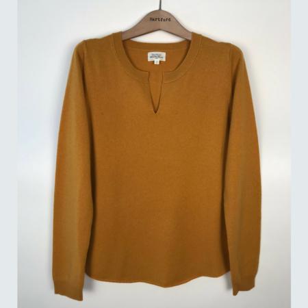 Hartford Mucha Cashmere Sweater - Amber