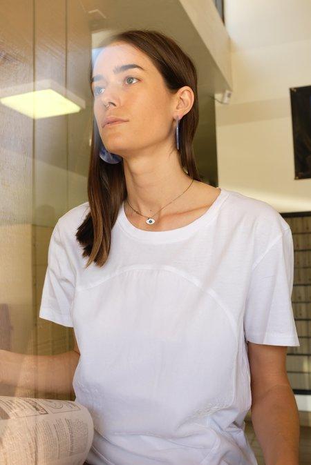 Correll Correll Velvet Circle T Shirt - White