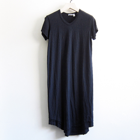 Wilt V-neck Dress - Navy