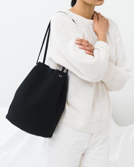 BAGGU Canvas Bucket Bag - Black