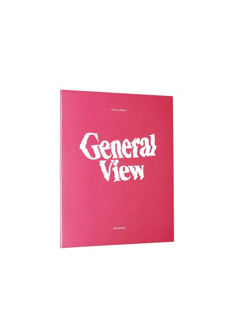 THOMAS ALBDORF GENERAL VIEW Book