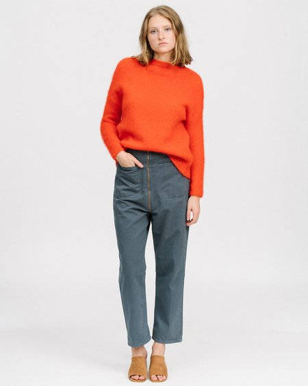 HUMANOID Fady mohair sweater - rouge