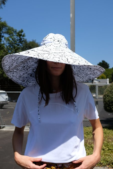 Beklina Voluminoso Hat - Post Print