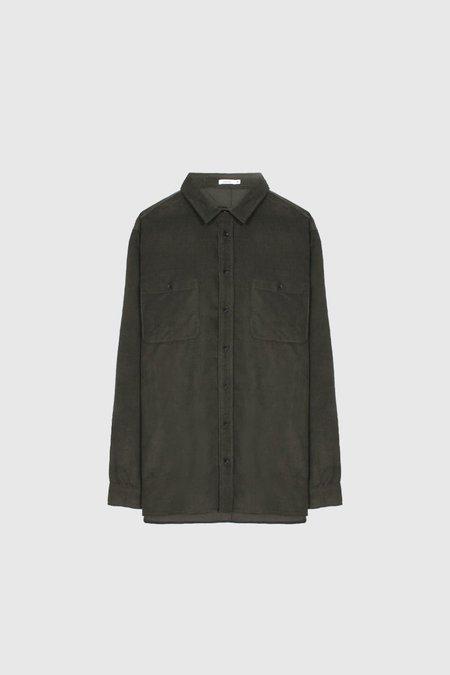 Commoners Cord Overshirt - Khaki
