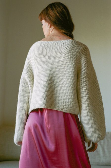Delfina Balda Mila Knit - Off-White