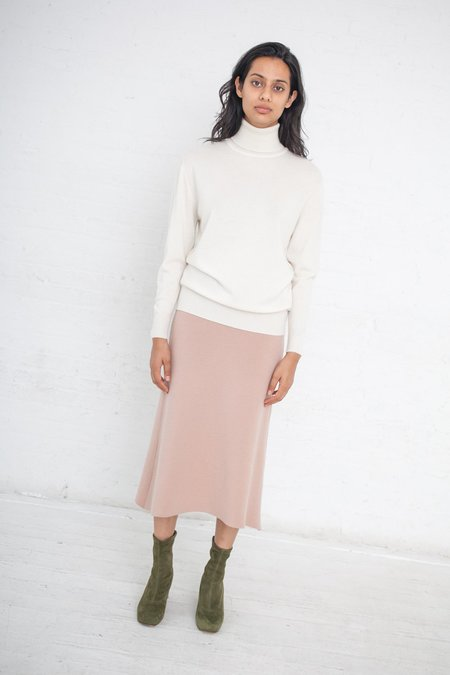 Ryan Roche Milano Stitch Long Skirt - Adobe
