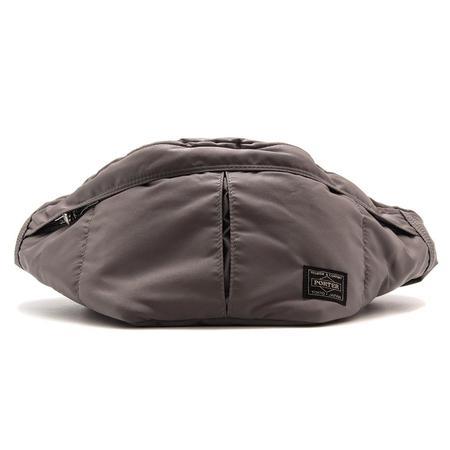 Porter Tanker Waist Bag - Silver
