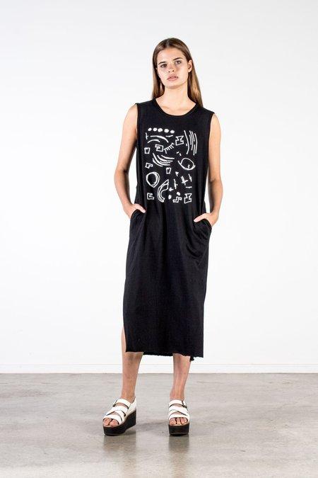 Nyne Sami Juno Knit Dress - Black