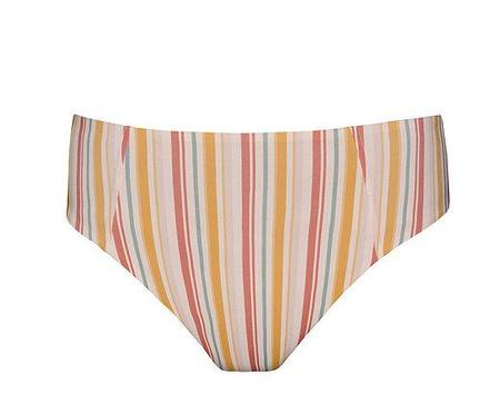 clō stories Gabriele Stripes Bikini Bottom - stripes print