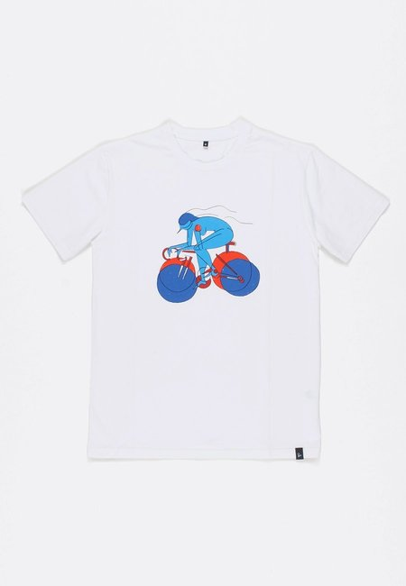 BY PARRA Break Away Girl T-Shirt - White