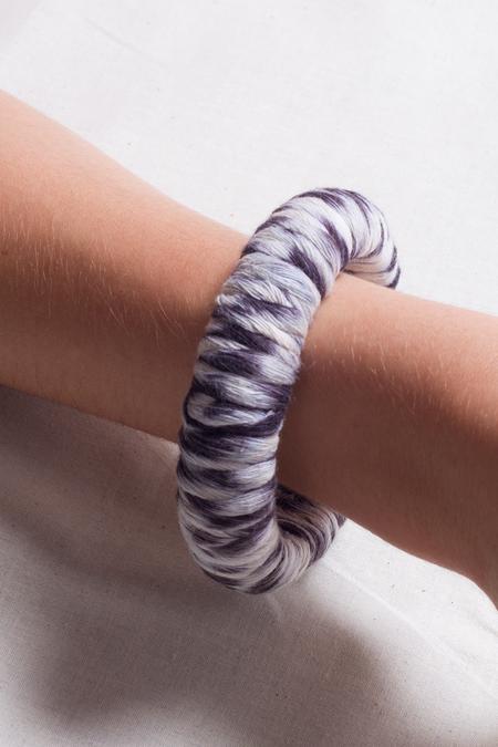 Jen Cogliantry Wrapped Bracelet - Indigo Multi