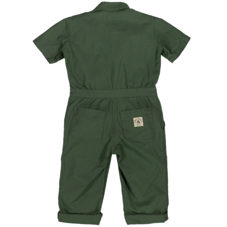 Kids Hey Gang Traditional Coverall - Army Green